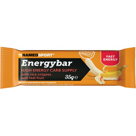 NAMEDSPORT Energy Bar Box 12 x 35g, Banana